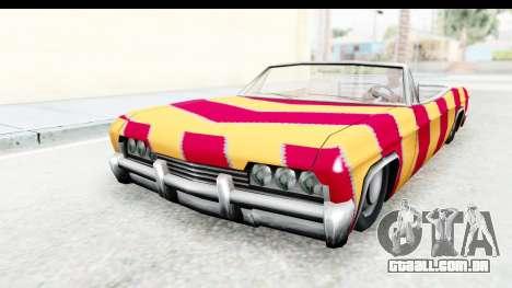 Blade New PJ para GTA San Andreas traseira esquerda vista