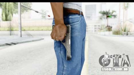 GTA 5 Vintage Pistol para GTA San Andreas terceira tela