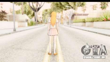 Bleach - Orihime para GTA San Andreas terceira tela