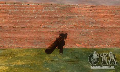 Noveske Diplomat 7.5 para GTA San Andreas segunda tela