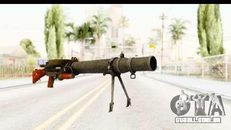 Lewis Machinegun para GTA San Andreas