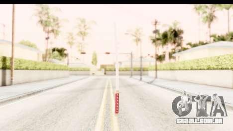 Bleach - Rukia Weapon para GTA San Andreas terceira tela