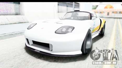 GTA 5 Bravado Banshee 900R Mip Map para GTA San Andreas vista interior