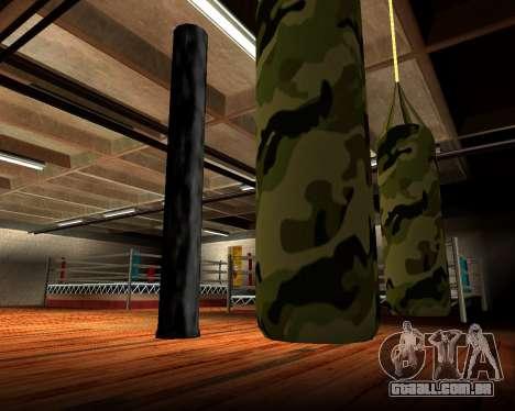 Militar de novo saco de pancadas para GTA San Andreas quinto tela