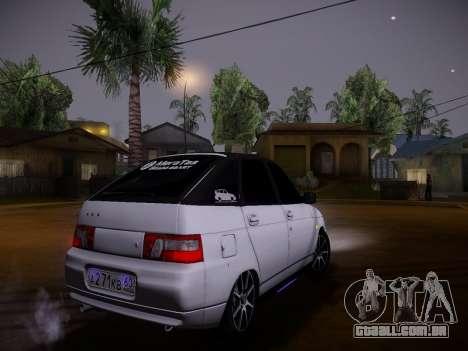VAZ 2112 GVR qualidade para GTA San Andreas vista interior