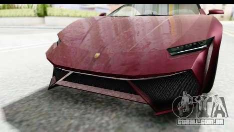 GTA 5 Pegassi Reaper v2 IVF para vista lateral GTA San Andreas