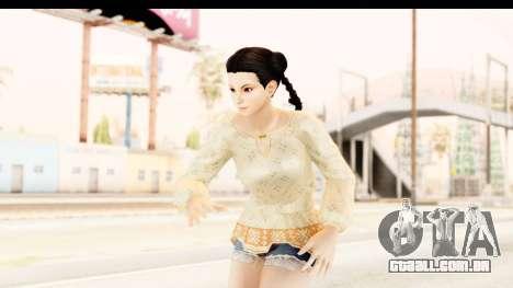 DoA 5 - Pai Chan Casual para GTA San Andreas