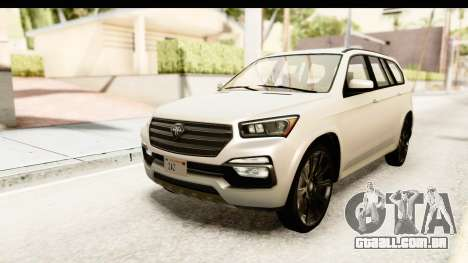 GTA 5 Benefactor XLS SA Style para GTA San Andreas
