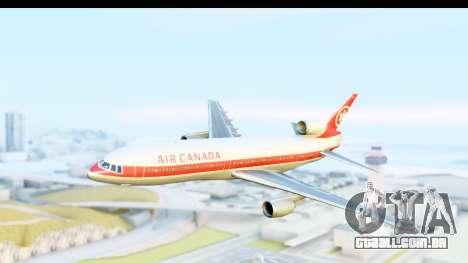 Lockheed L-1011-100 TriStar Air Canada para GTA San Andreas