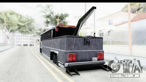 Towbus para GTA San Andreas esquerda vista