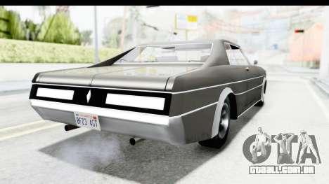 Imponte Tempest 1966 para GTA San Andreas esquerda vista