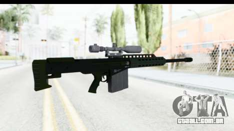 GTA 5 Vom Feuer Heavy Sniper para GTA San Andreas segunda tela