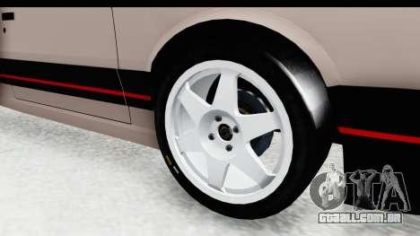Peugeot 309 GTi para GTA San Andreas vista traseira