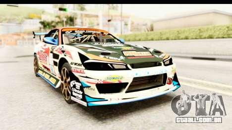 D1GP Nissan Silvia RC926 Toyo Tires para GTA San Andreas
