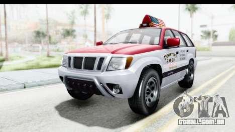 GTA 5 Canis Seminole Downtown Cab Co. Taxi para GTA San Andreas