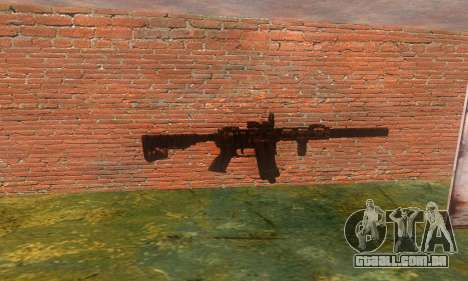 Noveske Diplomat 7.5 para GTA San Andreas terceira tela