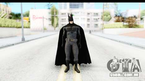 Batman vs. Superman - Batman v2 para GTA San Andreas segunda tela