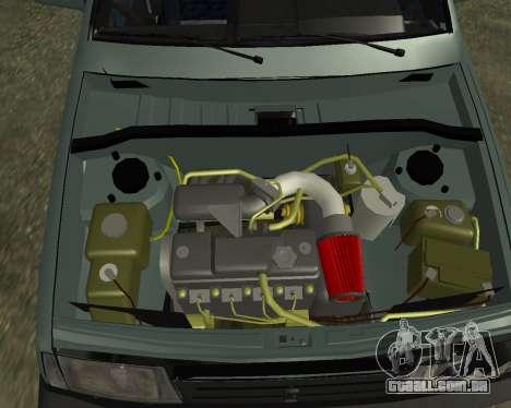 Vaz 21099 ARMNEIAN para as rodas de GTA San Andreas