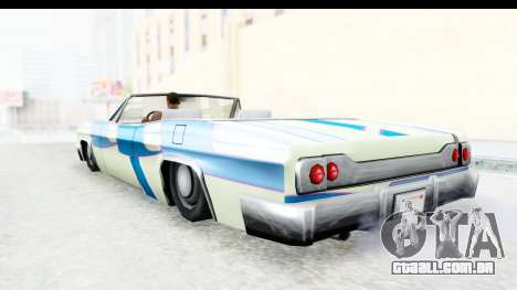 Blade New PJ para GTA San Andreas vista interior