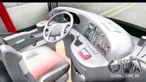 Mercedes-Benz Travego 2016 para GTA San Andreas vista interior