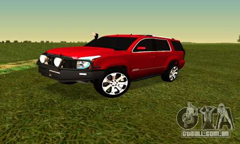 GMG Yukon 2015 para GTA San Andreas