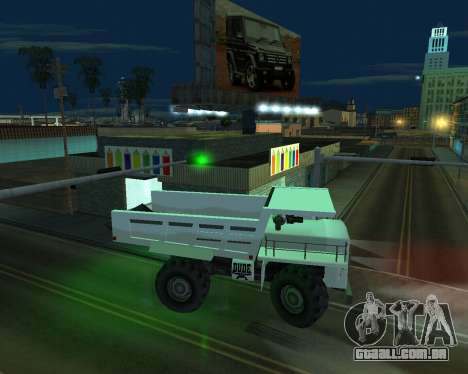 Pinte a garagem para GTA San Andreas por diante tela