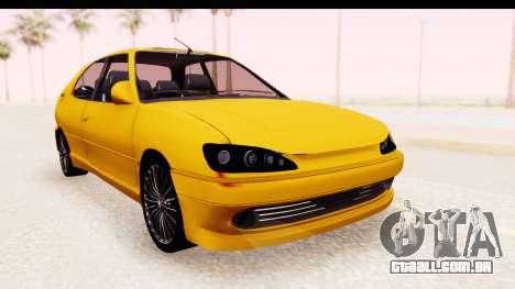 Peugeot 306 GTI para GTA San Andreas