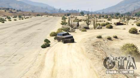 GTA 5 Off-roading Rancher quarto screenshot