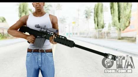 GTA 5 Vom Feuer Heavy Sniper para GTA San Andreas terceira tela