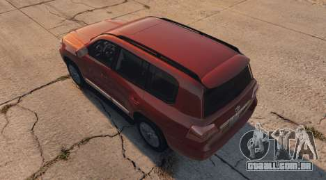 GTA 5 Toyota Land Cruiser 2013 vista lateral esquerda