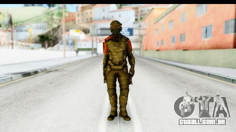 Homefront The Revolution - KPA v1 Camo para GTA San Andreas segunda tela