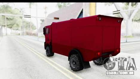 GTA 5 MTL Dune 3D Shadow IVF para GTA San Andreas esquerda vista