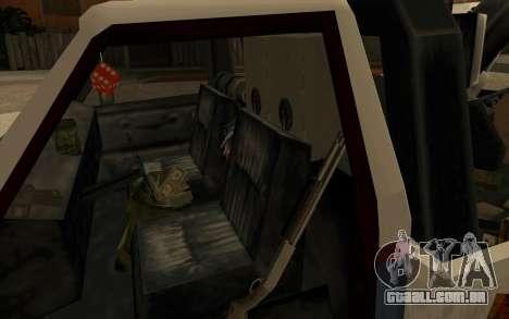 Novo reboque para GTA San Andreas vista traseira