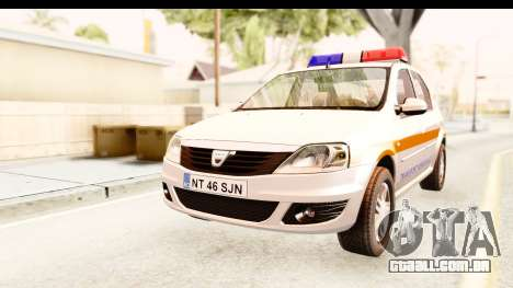 Dacia Logan Facelift Ambulanta v2 para GTA San Andreas