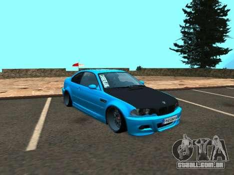 BMW M3 E46 Postura para GTA San Andreas esquerda vista