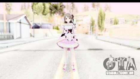 CGSS - Uzuki Peacefull Dance Rilaneko para GTA San Andreas segunda tela