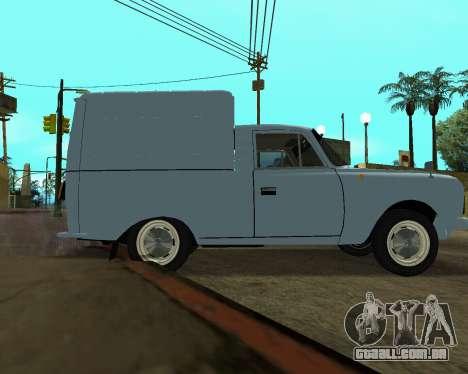 Moskvich 2715 Arménio para o motor de GTA San Andreas