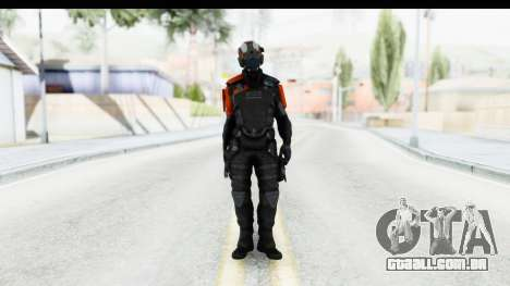 Homefront The Revolution - KPA v5 Black para GTA San Andreas segunda tela