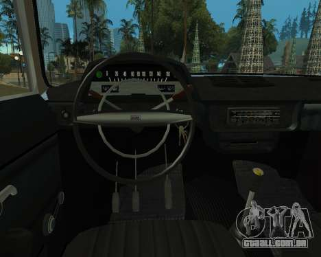 Moskvich 2715 Arménio para GTA San Andreas traseira esquerda vista