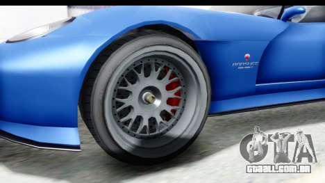 GTA 5 Bravado Banshee 900R Mip Map para GTA San Andreas vista traseira