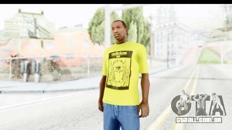 Adidas Thor T-Shirt para GTA San Andreas segunda tela
