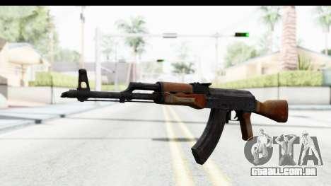 AKM 7.62 para GTA San Andreas