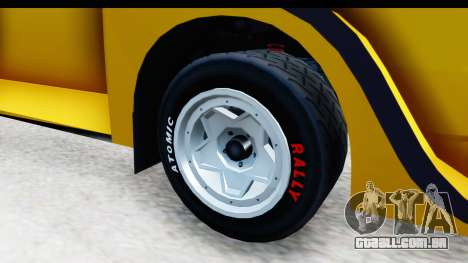 GTA 5 Obey Omnis IVF para GTA San Andreas vista traseira