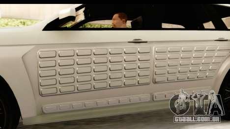 GTA 5 Benefactor XLS SA Style para GTA San Andreas interior