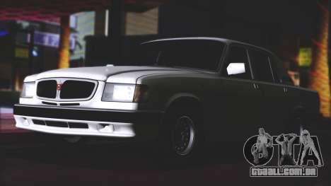 GAZ 3110 Escoamento de Qualidade para GTA San Andreas vista direita