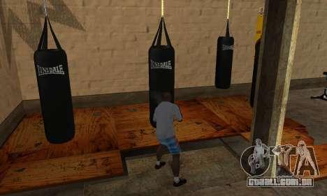 LonsDale saco de pancadas para GTA San Andreas terceira tela