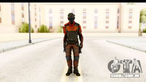 Homefront The Revolution - KPA v5 Red para GTA San Andreas segunda tela