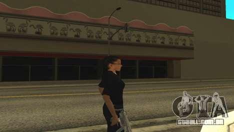 A pele de uma funcionária da polícia para GTA San Andreas segunda tela