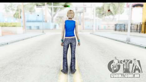 Silent Hill 3 - Heather Sporty Super Girl para GTA San Andreas terceira tela