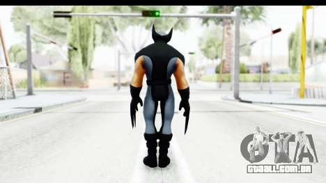Marvel Heroes - Wolverine Xforce para GTA San Andreas terceira tela